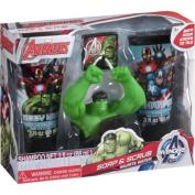 Marvel Avengers Avenging Apple Scented Soap & Scrub Set, 4 pc