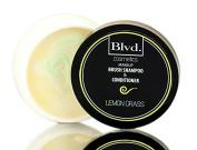 Blvd. Cosmetics Make-up Brush Shampoo & Conditioner - Lemon Grass / 60ml