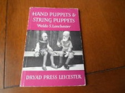 hand puppets & string Puppets