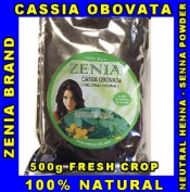 500g - Pure Cassia Obovata Neutral Henna senna ZENIA BRAND By Herbal Beauty Supply