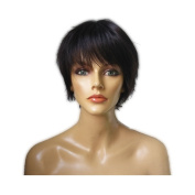 Namecute Women Bob Short Human Hair Wigs