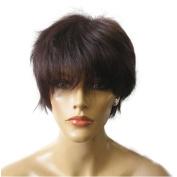 Namecute Women Bob Short Human Hair Wigs