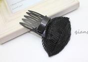 Women Beauty Front Hair Bangs Bumpit Bump Up Volumn Increase Styling Insert Pin Clip Barrette Comb AOSTEK