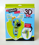 3D Wall Art Kit Fashion Angels 'Deer' My Fashion Style