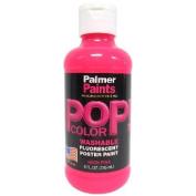 Prism Tempera Neon Poster Paint 240ml-Pink