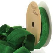 1.6cm Fold Over Elastic Emerald 3 Yard