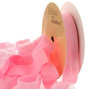 1.6cm Fold Over Elastic Pink 25 Yard