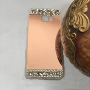 Samsung Galaxy Note 3 Case,Inspirationc® Luxury Diamond Mirror Soft TPU Silicone Cover for Samsung Galaxy Note 3 Case [Girl case]--Rose Gold