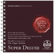 Bee Paper Super Deluxe Sketch Pad, 15cm by 15cm