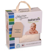 Moonlight Slumber Little Dreamer Naturals Organic Cotton Crib Mattress Cover