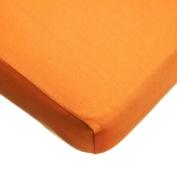 TL Care Supreme 100% Jersey Knit Crib Sheet, Orange