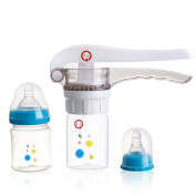 OLizee™Creative Baby Manual Juicer Set Juice Squeezer with 2 Feeding Bottle