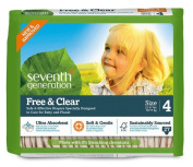 Seventh Generation BabyTM Free and Clear Nappies Stage 4