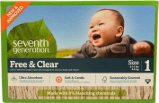 Seventh Generation Free and Clear Nappies Stage 1