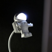 Astronaut LED Atmosphere Night Light Protect Eyes,for Reading,playing Computer,taking Care of Kids, White