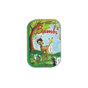 S & C ONB21 Bambi 36 sheets canned label sticker Disney