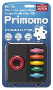 Purimomo crayons ring 6 colours