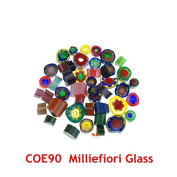 5bags/Lot Milliefiori Glass Microwave Kiln Accessories COE90 Glass