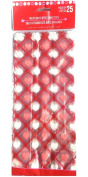 Valentine's Treat Bags with Twist Ties, 25 Ct, Cellophane Heart Print