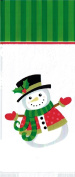 Snowman Christmas Treat/Gift Bags with Twist Ties - Package of 25