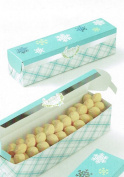 Holiday Treat Boxes with Seals - Package of 4