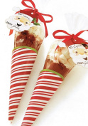 Holiday Candy/Treats Cone Bags - Package of 8