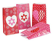 Valentine Paper Treat Bags
