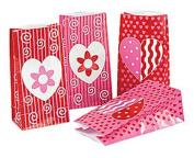 Valentine Paper Treat Bags