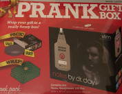 Large Prank Gift Box ~ Notes by Dr Day Headphones ~ 37cm x 36cm x 10cm