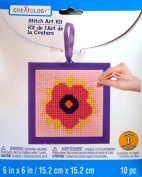 Flower Stitch Art Kit