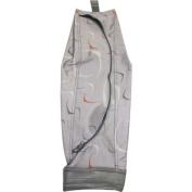 CLOTH BAG, STRAIGHT ZIPPER SENTRIA grey