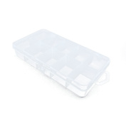 Price per 10 Pieces Arts Crafts Storage Clear Beads Tackle Box Organisers Small Parts Jewellery Findings Cases BOX017
