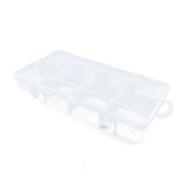Price per 1 Pieces Arts Crafts Storage Clear Beads Tackle Box Organisers Small Parts Jewellery Findings Cases BOX038