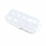 Price per 2 Pieces Arts Crafts Storage Clear Beads Tackle Box Organisers Small Parts Jewellery Findings Cases BOX009