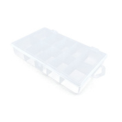 Price per 2 Pieces Arts Crafts Storage Clear Beads Tackle Box Organisers Small Parts Jewellery Findings Cases BOX020