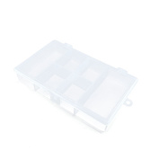Price per 1 Pieces Arts Crafts Storage Clear Beads Tackle Box Organisers Small Parts Jewellery Findings Cases BOX028