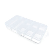 Price per 2 Pieces Arts Crafts Storage Clear Beads Tackle Box Organisers Small Parts Jewellery Findings Cases BOX031