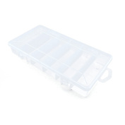 Price per 1 Pieces Arts Crafts Storage Clear Beads Tackle Box Organisers Small Parts Jewellery Findings Cases BOX024