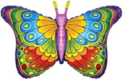 Coquette Butterfly Shaped 70cm Foil Balloon