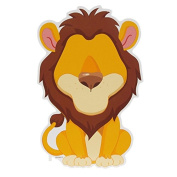Funny Faces Sticker Set 3D, Loony Lion