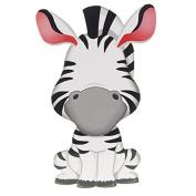 Funny Faces Sticker Set 3D, Zany Zebra