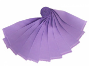 """20 6.4cm Beautiful Lilac """"Dream Cotton"""" Solids Jelly Roll WOF"""
