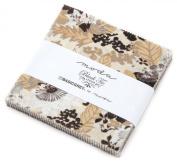 Black Tie Affair Charm Pack By Basic Grey; 110cm - 13cm Precut Fabric Quilt Squares
