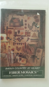 Fibre Mosaics Country At Heart #89301 Applique Folk Art Quilt Pattern