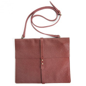 Mac and Lou Crossbody Bag 'Bff' Burgundy