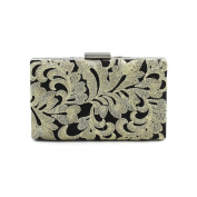 Kingluck satin embroider Wedding/Special Occasion Clutches/Evening Handbags With Pearls(More Colours