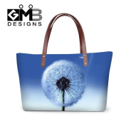 Creativebags Flower Shoulder Handle Hand bag Purse Totes for Women Teens Girls Shopping Travel
