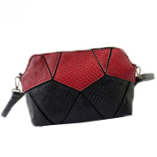 Top Shop Womens Contrast Colour Splice Style Shoulder Handbags Casual Totes Messenger Bag Hobos Satchels