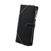 Bluelans® Women Fashion Leather Wallet Button Clutch Purse Lady Long Handbag Bag