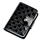 Bluelans® High Quality Patent Leather Woman Lady ID Credit Card Holder Case Pocket Bag Wallet